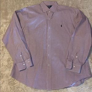 Ralph Lauren Regent Classic Fit Dress Shirt Sz XL